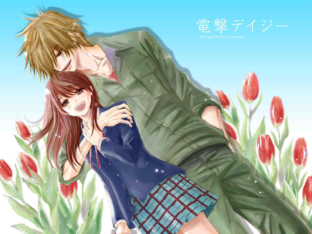 Sad Anime Girl Sweet Hd Wallpaper Dengeki Daisy Dengeki Daisy Photo 22525069 Fanpop