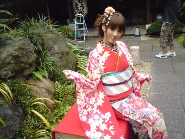 Japanese Girl Kimono Wallpaper Kimono Girl Azama Mew Photo 22985098 Fanpop