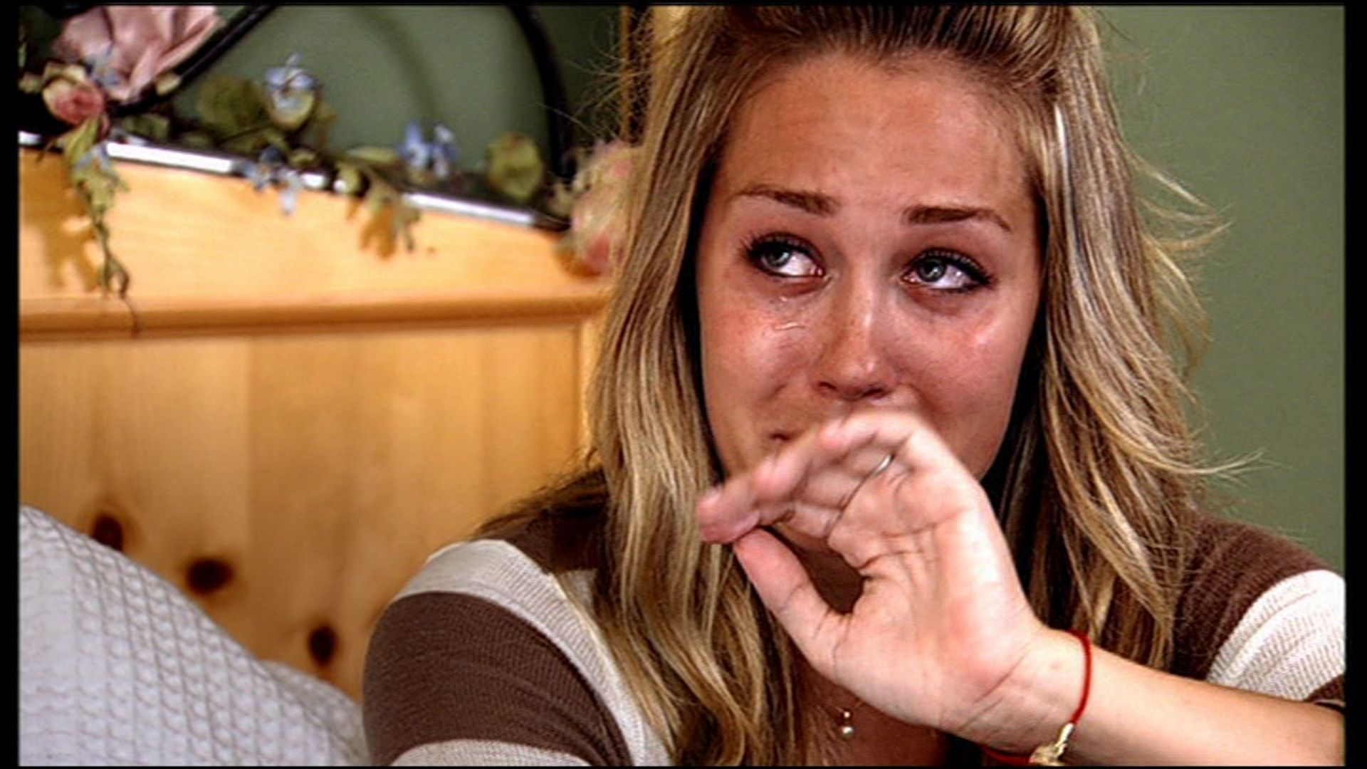 lauren conrad crying