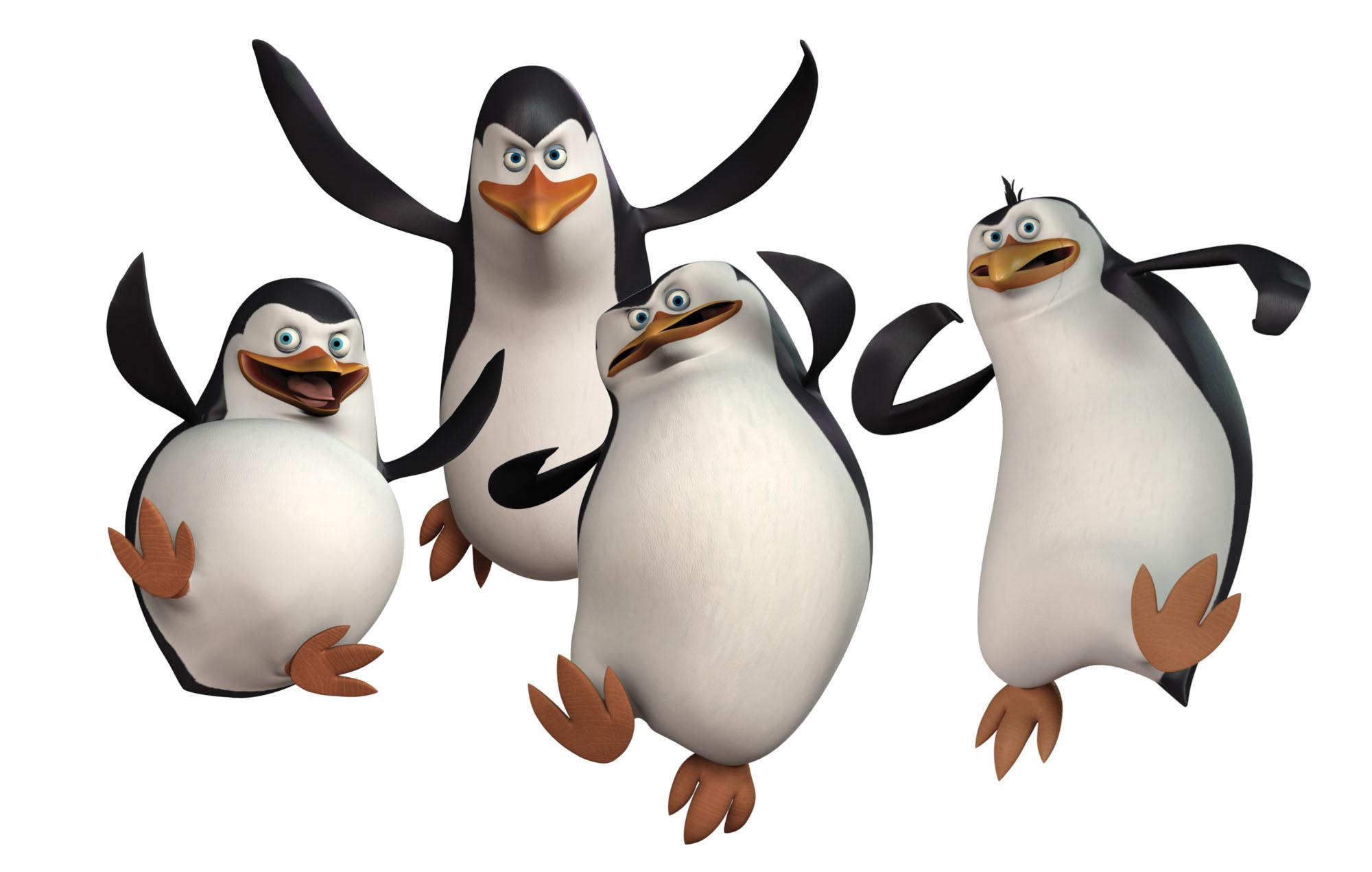Madagascar Pride Penguins Badger