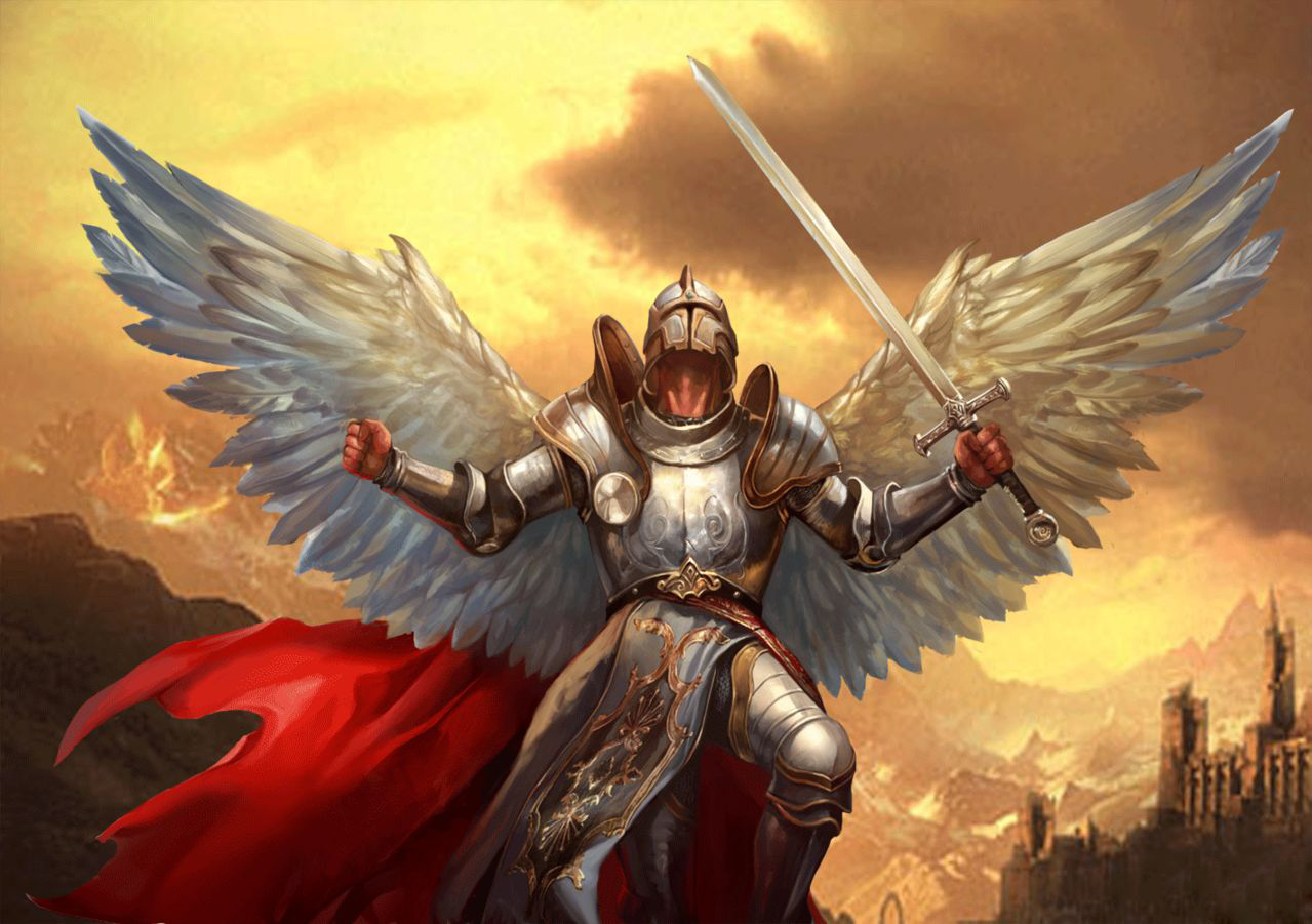 fantasy warrior angel fantasy