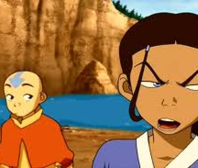 Avatar The Waterbending Scroll Images Aang And Katara Wallpaper And Background Photos