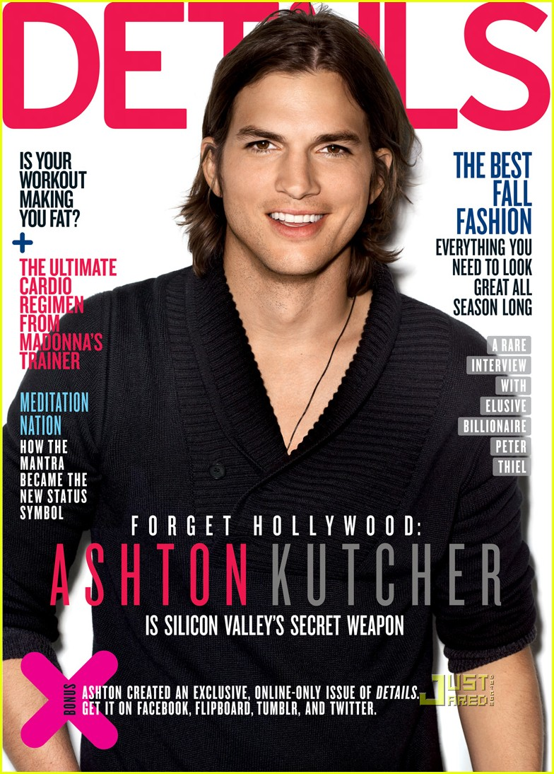 Ashton Kutcher Covers 'Details' September 2011 - ashton-kutcher photo
