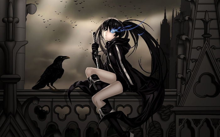 Poets Of The Fall Daze Wallpaper Black★rock Shooter Star Light Photo 24518364 Fanpop