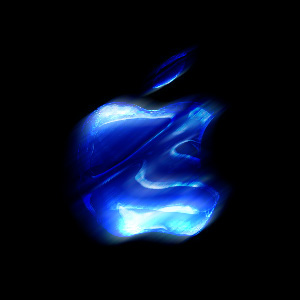 ice blue apple logo