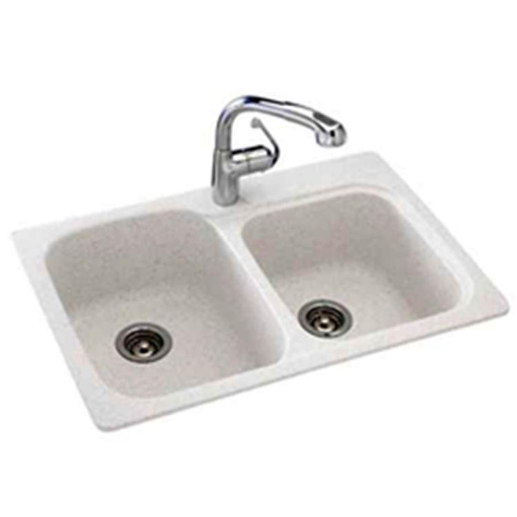 swanstone single bowl kitchen sink pantry cabinet ikea ksdb-3322-010 white 33