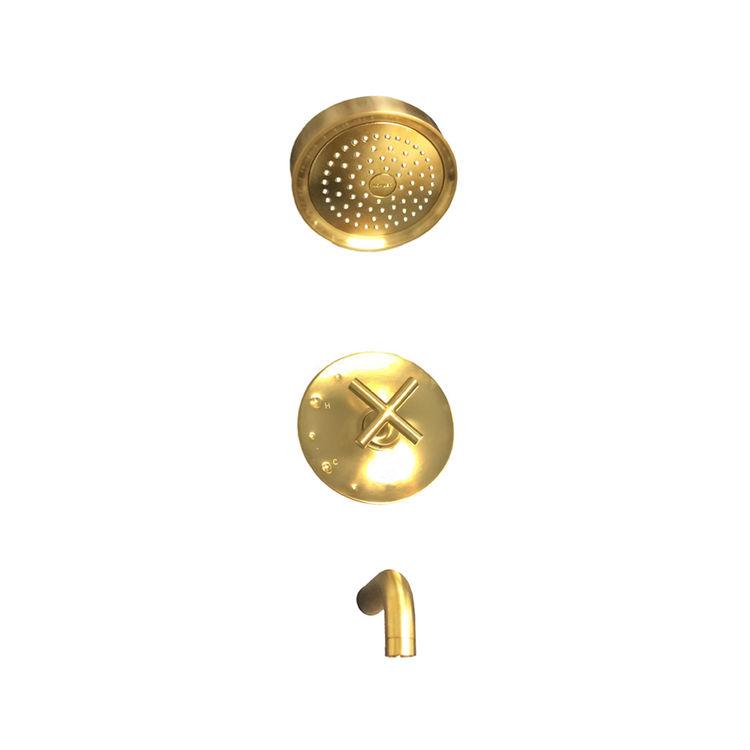 kohler k t14421 3 bgd purist brushed gold r t b s trim cross handles