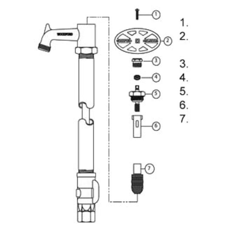Woodford RK-Y30 Brass Repair Kit for Model Y30 Post Yard