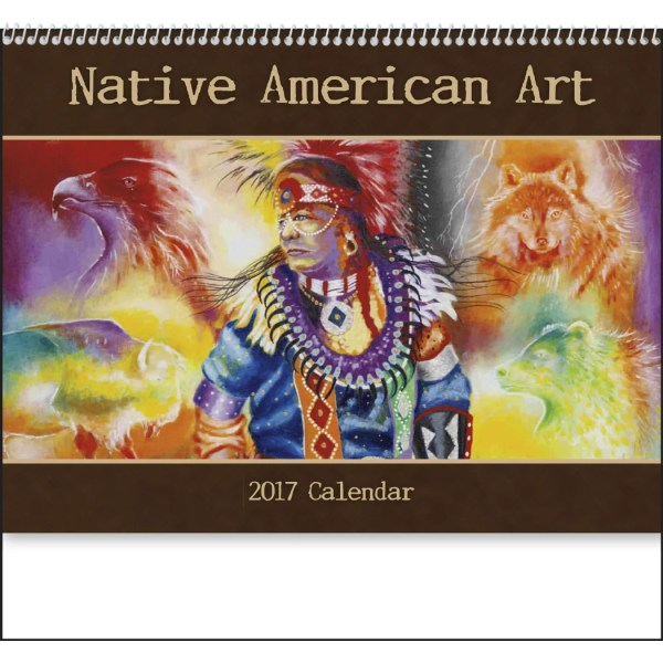 Native American Art Appointment Calendar 2017 Custom