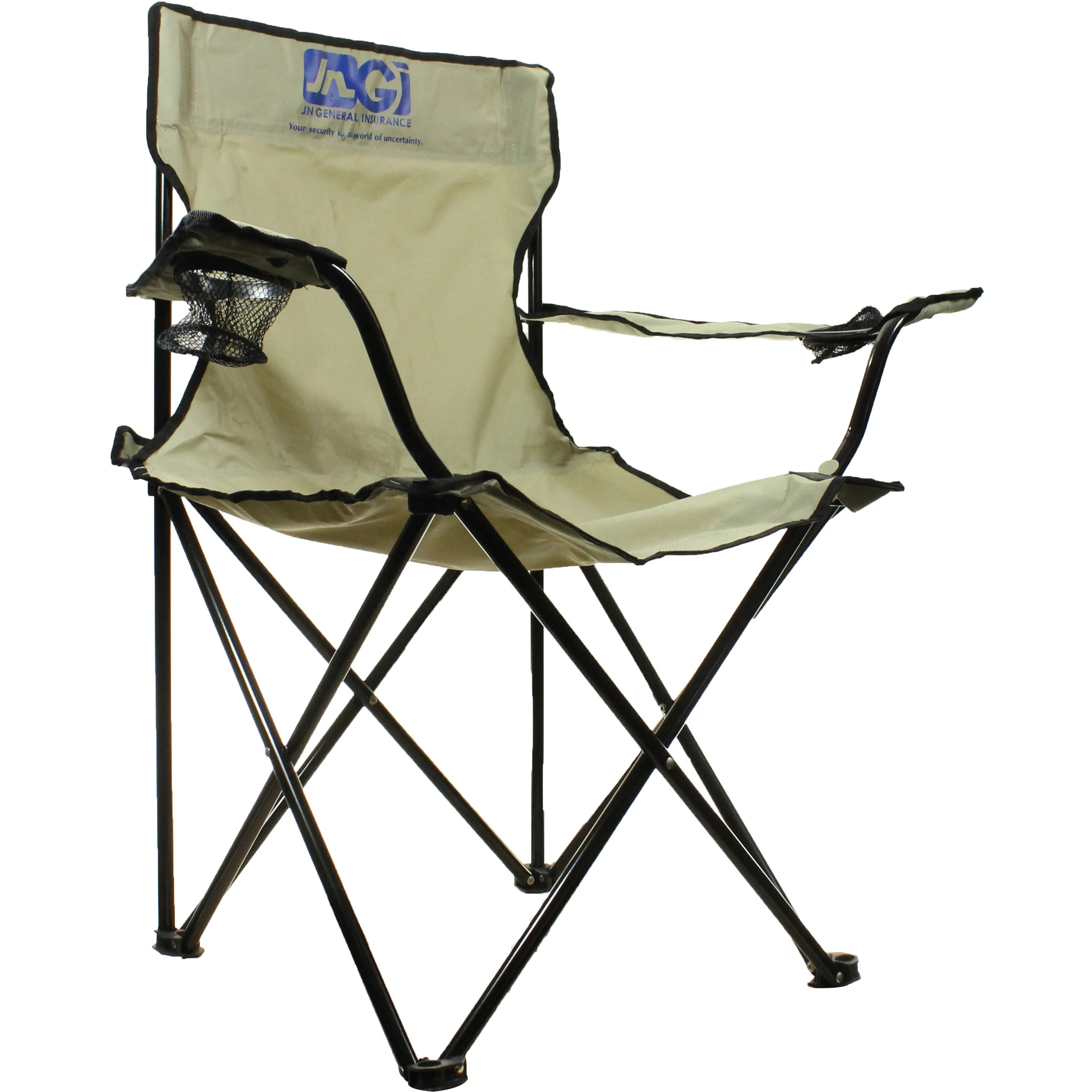quality folding chairs chair rail tile at lowes with carrying bag trade show giveaways