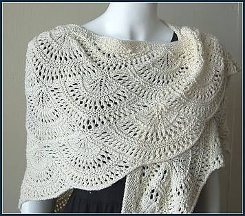 Irish Crochet Lace Shawl