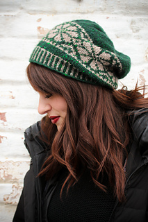 Ravelry Nordic Fair Isle Slouch Hat Pattern By Tanis Gray
