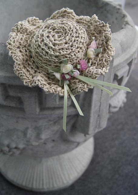 Miniature Flowery Sunhat