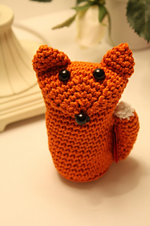 Cute easy fox free crochet pattern