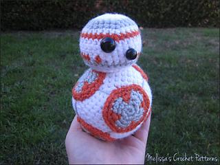Free Star Wars Crochet Patterns bb8