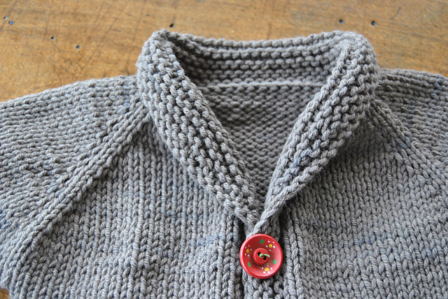 Baby Sophisticate by Linden Down cardigan tricot