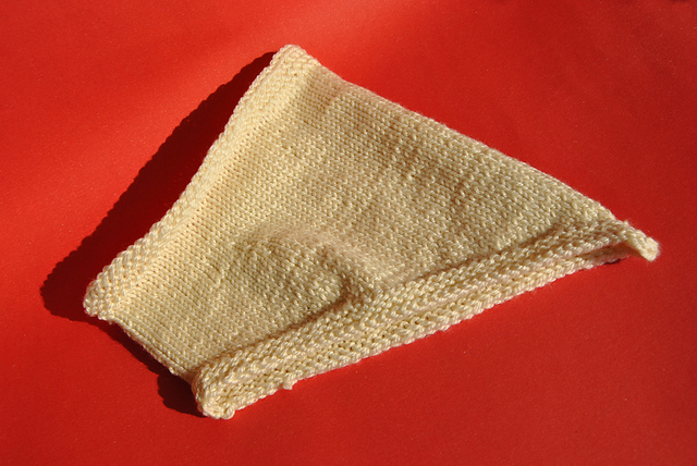 knitted Bandana Cowl Purl Soho