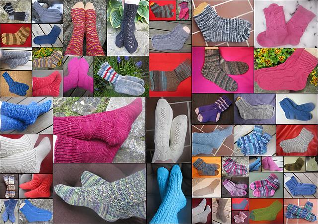 52 par sokker i løpet av ett år!