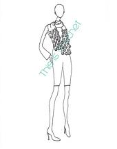 Ravelry: Fleurette Scarf pattern by Rhonda