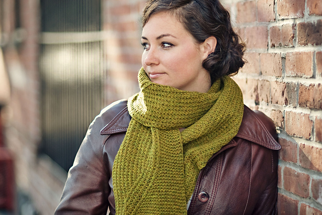 wayfarer knitted scarf