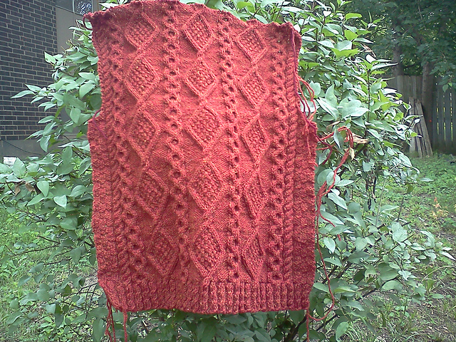 Pattern: Vickie's Cardigan