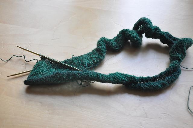 loop schoppel zauberball lace grashalm