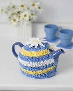 Daisy teapot pattern