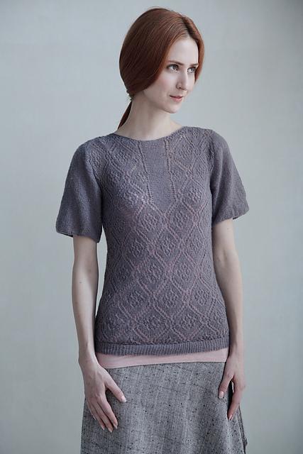 rose trellis blouse