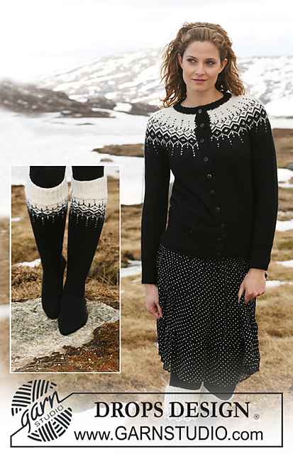 Fabel drops design socks tricoter chaussettes drops