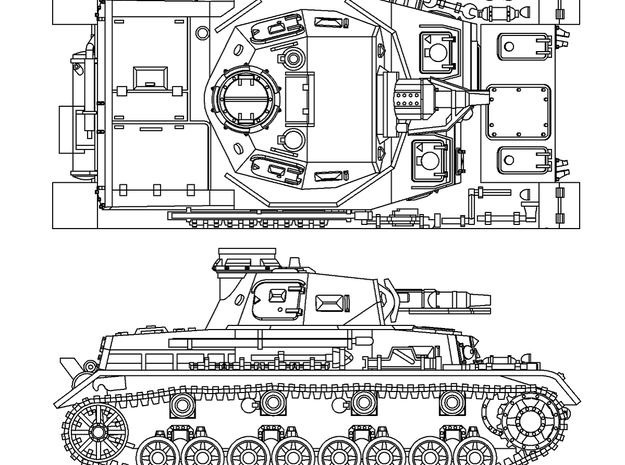 1/144 PzKpfw IV ausf.D (FF36XRSFR) by yuunagi_dameya