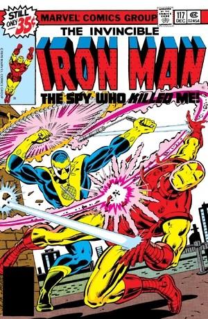Invencible Iron Man #117