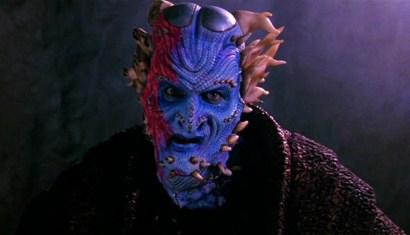 Dennis Ott as a horned alien Imvari