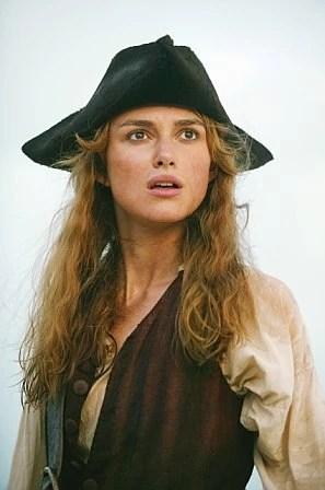 Elizabeth Swann Pirates of the Caribbean Keira Knightley
