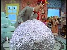 FoilRubber Band Balls  PeeWees Playhouse