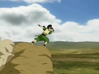 toph from Avatar the Last Airbender