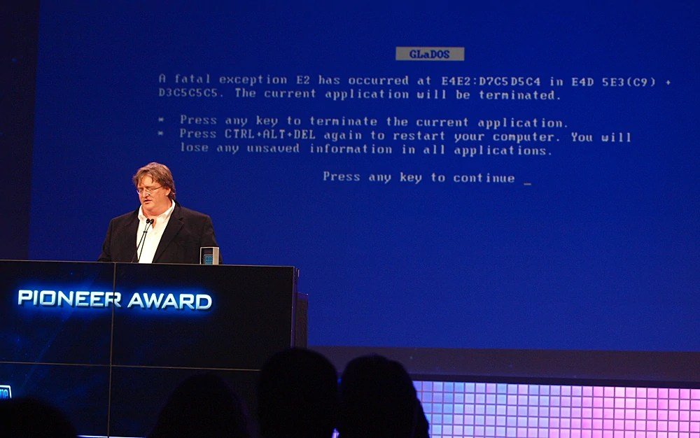 Gabe Newell ARG speech