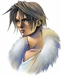 Squall's portrait.