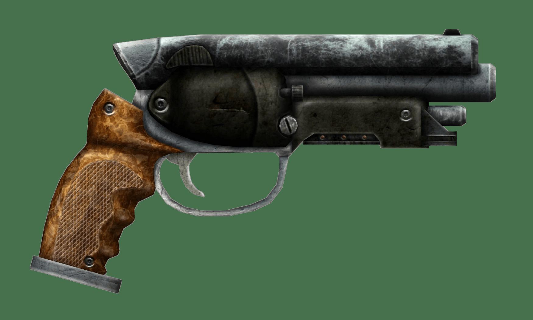 Wait, is this a Fallout gun? Wha?