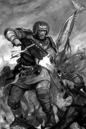 Guard Veteran from the Warhammer 40k Wiki