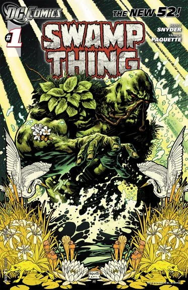 Swamp Thing No. 1 Writter: Scot Snyder. Artist: Yanick Paquette. Colors: Nathan FajrBajrn
