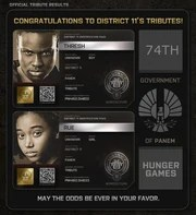 where are the districts in hunger games
