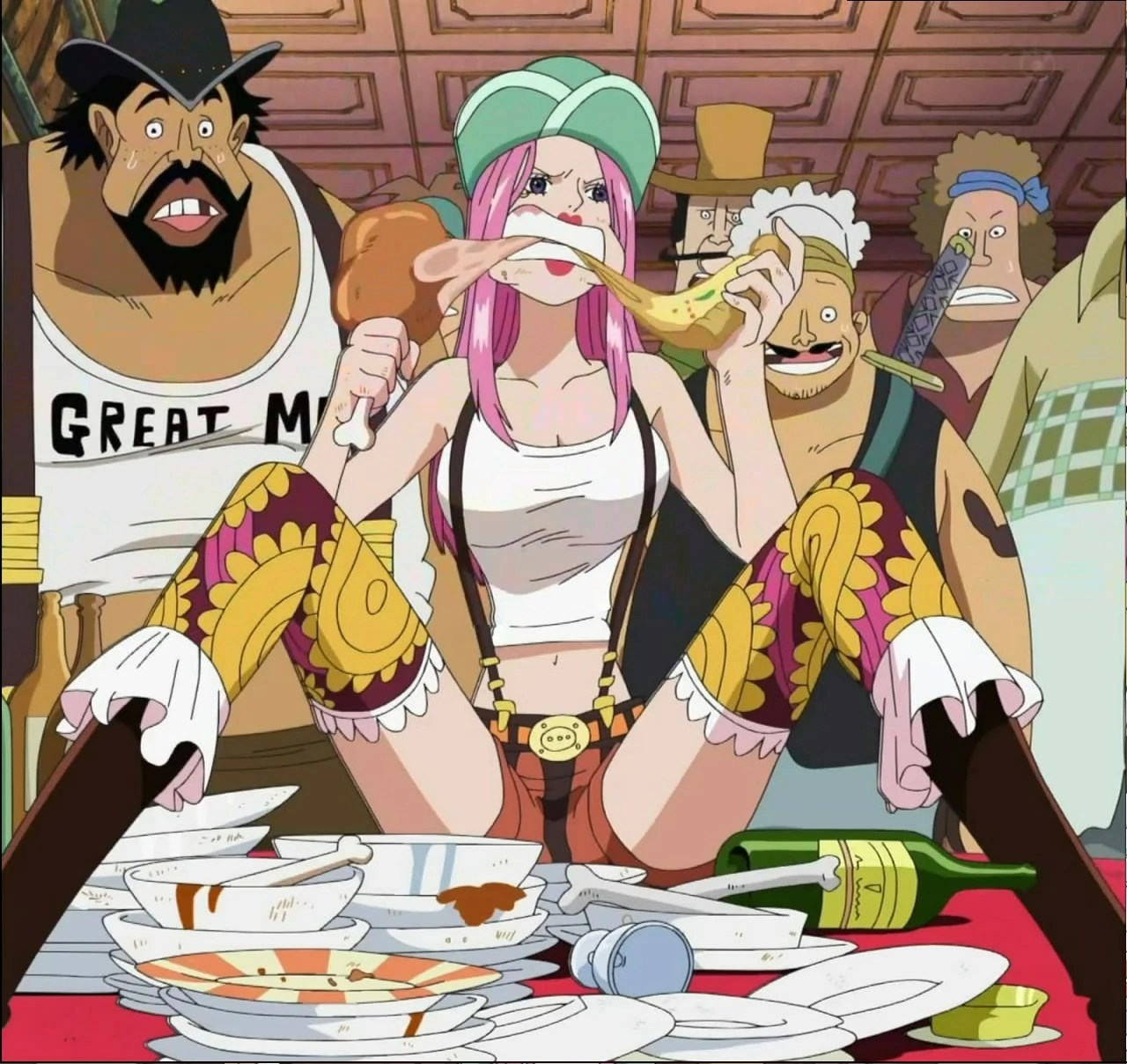 Bonney Pirates The One Piece Wiki Manga Anime