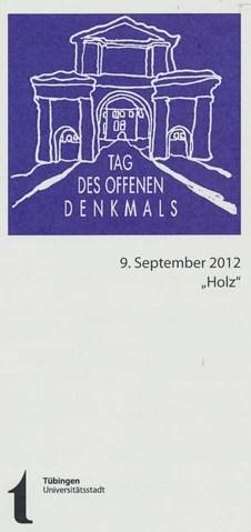 Tag des Offenen Denkmals 2012