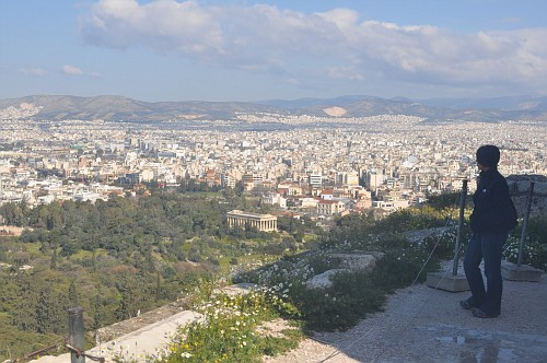 one view of Athens
