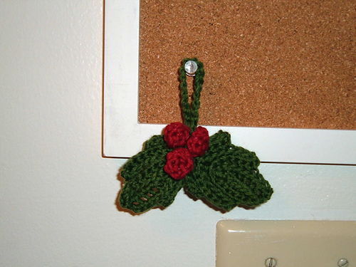 Cute crocheted ornaments!
