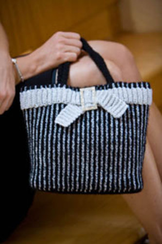 Cute bag from Interweave Crochet
