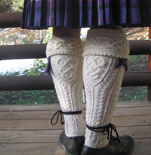 Kilt hose - nom, nom, nom!  I just LOVE men in kilts.