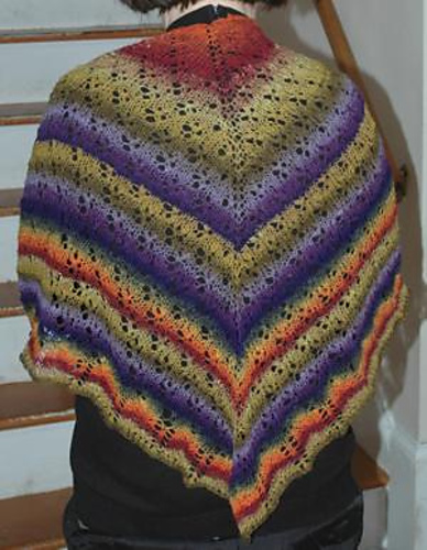 * At first glance, I keep thinking this is crochet!  Its lovely either way!