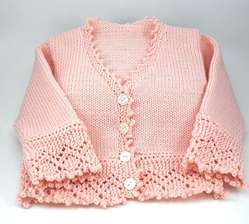 Adorable baby sweater!!  Love it!