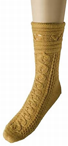 * Very cute socks from the folks at Knit Picks!